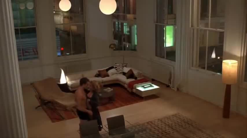 Becki Newton sexy scene from Ugly Betty