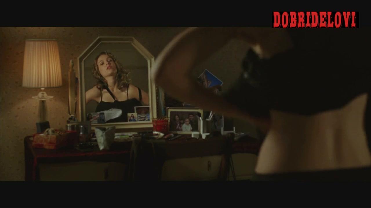 Natalie Portman dresses herself for V for Vendetta