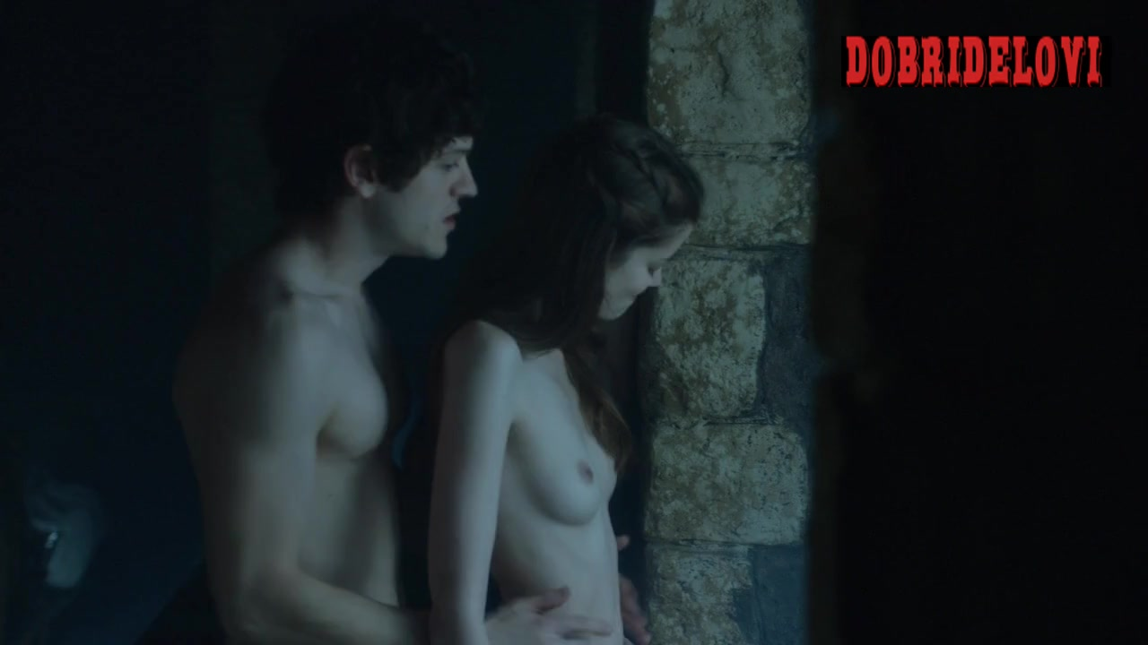 Charlotte Hope gets it from behind in Game of Thrones