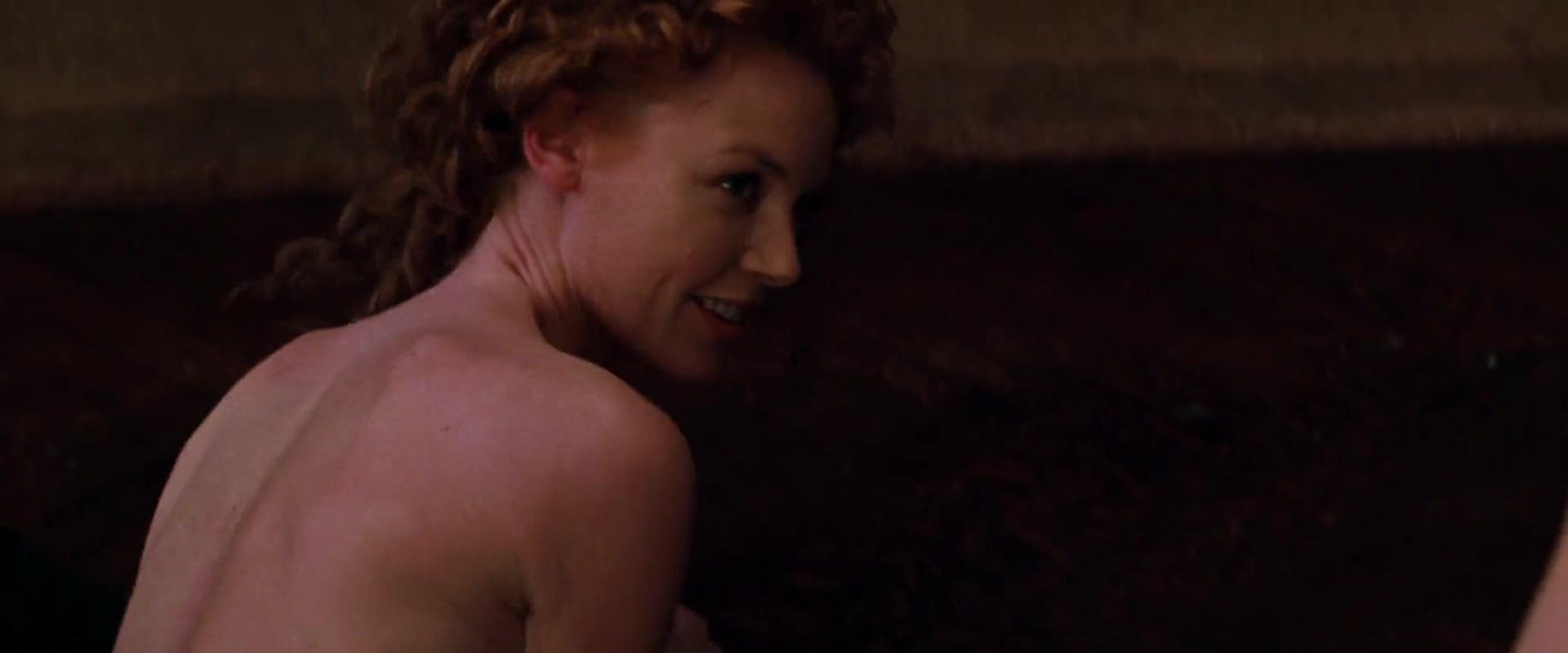 Charlize Theron sexy scene in The Devil s Advocate