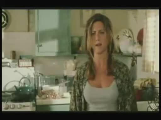 Jennifer Aniston scene from Bruce Almighty