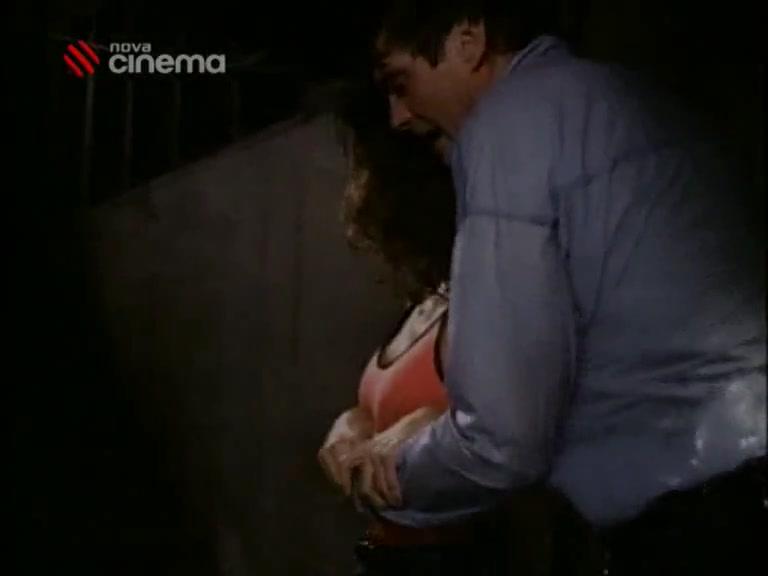 Carrie-Anne Moss scene in Baywatch