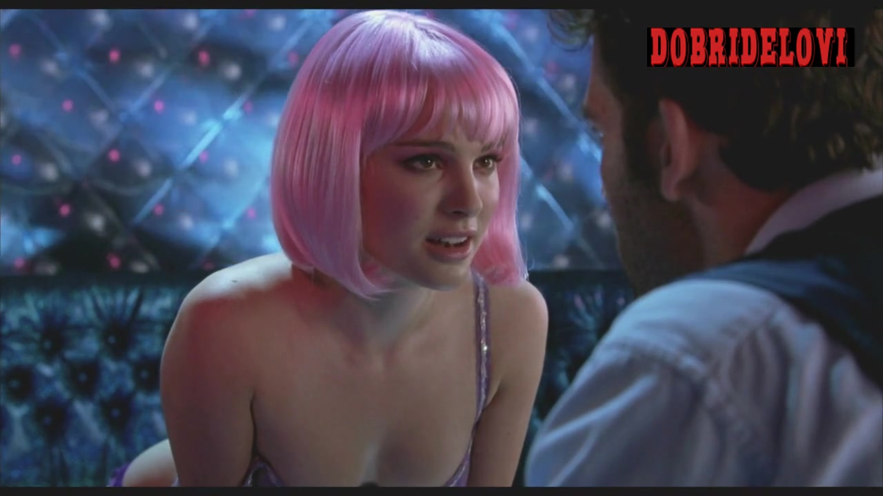 Natalie Portman strip club private room with Clive Owen in Closer