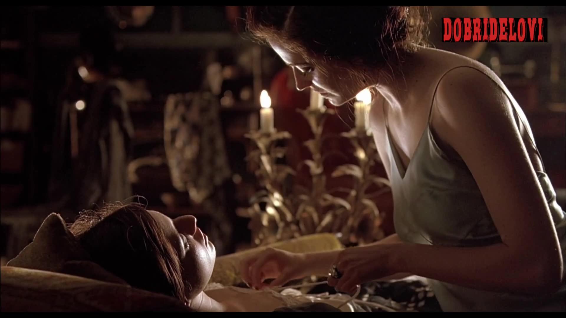 Eva Green undressing Maria Valverde scene from Cracks
