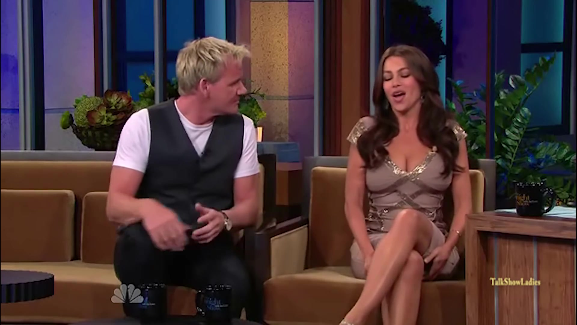 Gordon Ramsay meets Sofia Vergara 2010