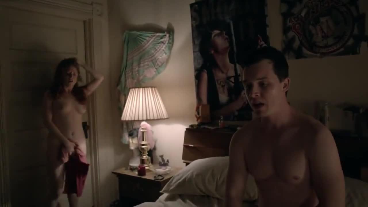 Kate Morgan Chadwick sexy scene from Shameless_75