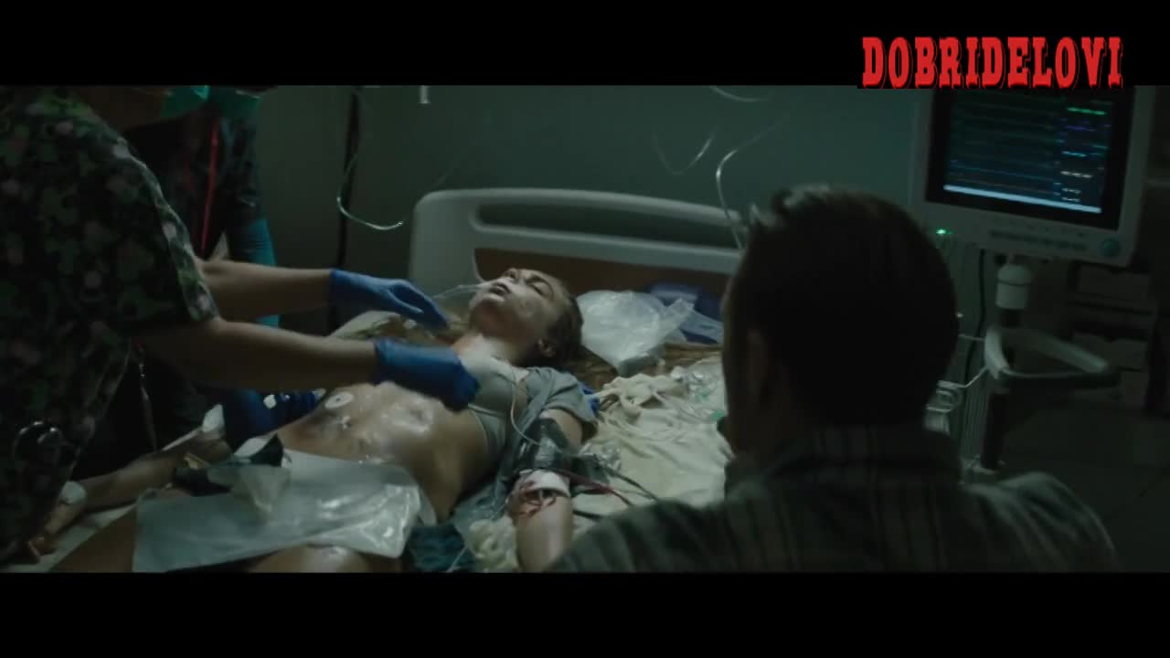Cara Delevingne sexy while passed out in Suicide Squad