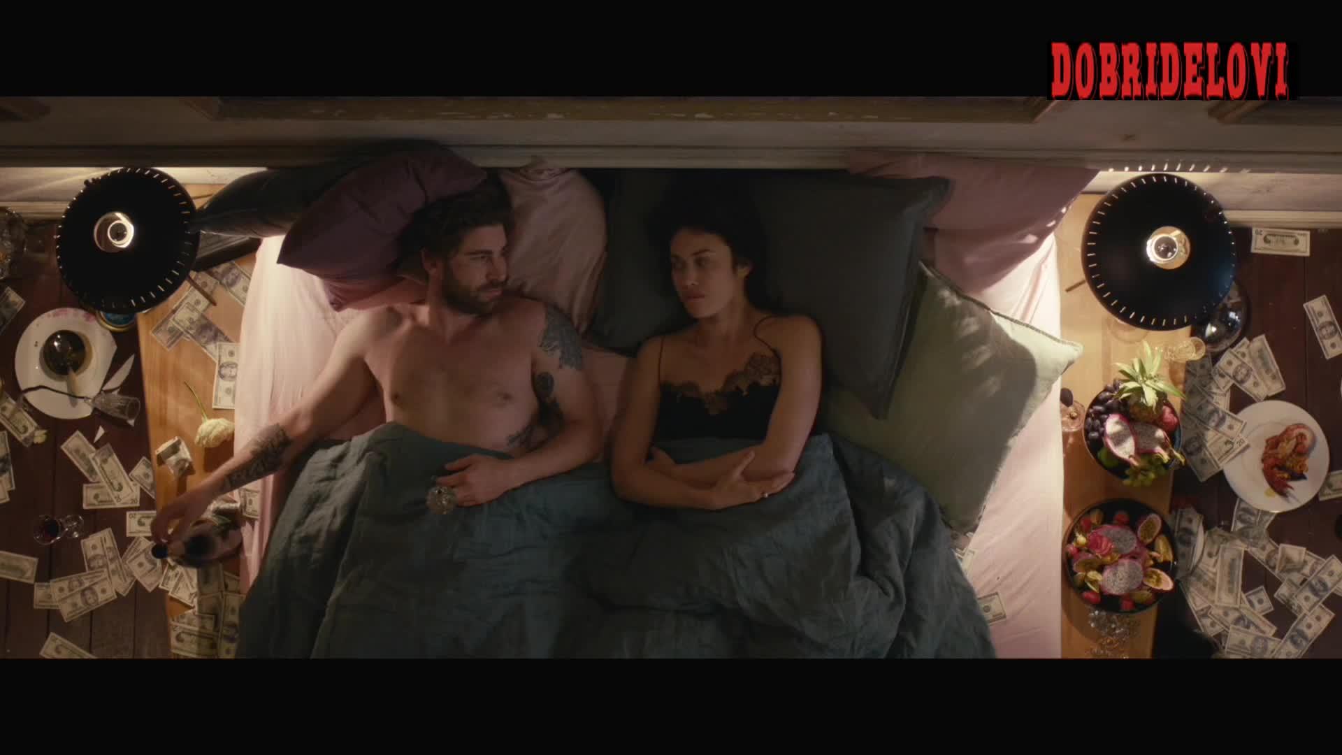 Olga Kurylenko sexy parting scene from The Room