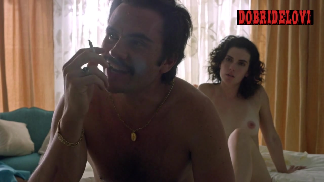 Laura Perico nude post-coital scene with Wagner Moura for Narcos