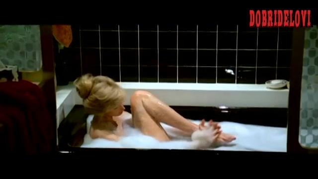 Morgan Fairchild bubble bath scene from The Seduction
