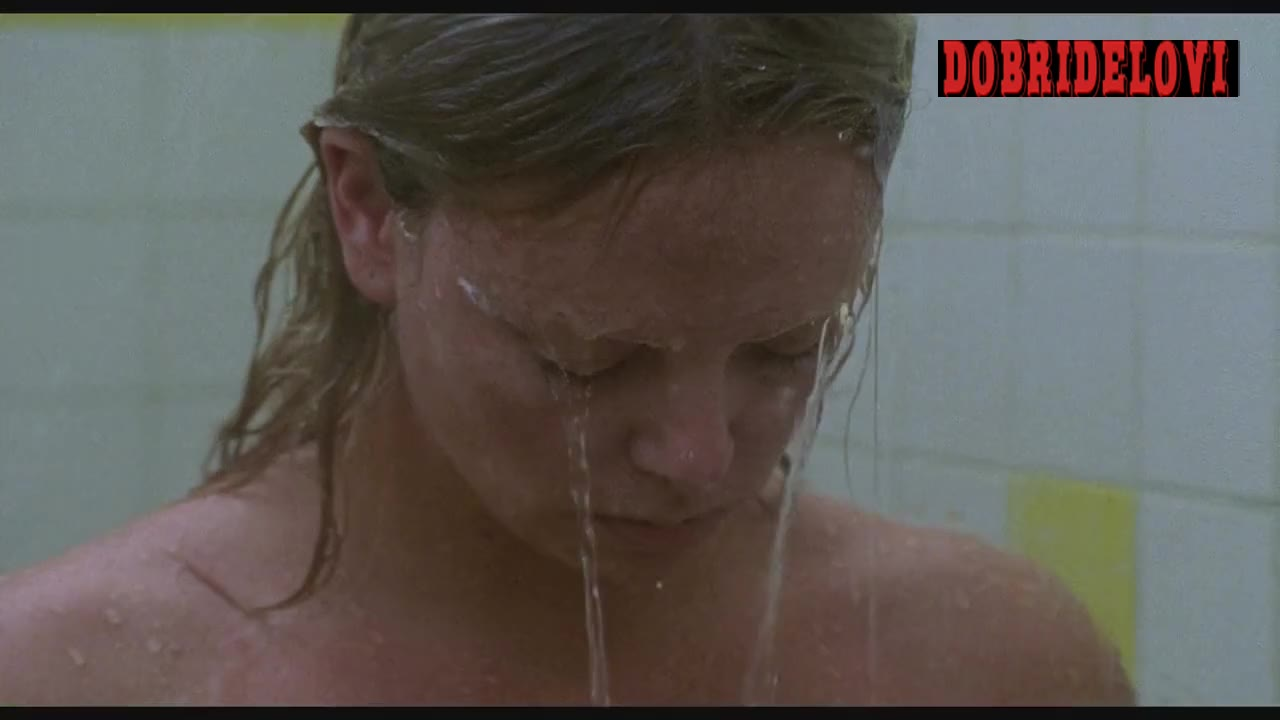 Charlize Theron naked and bloody in Monster