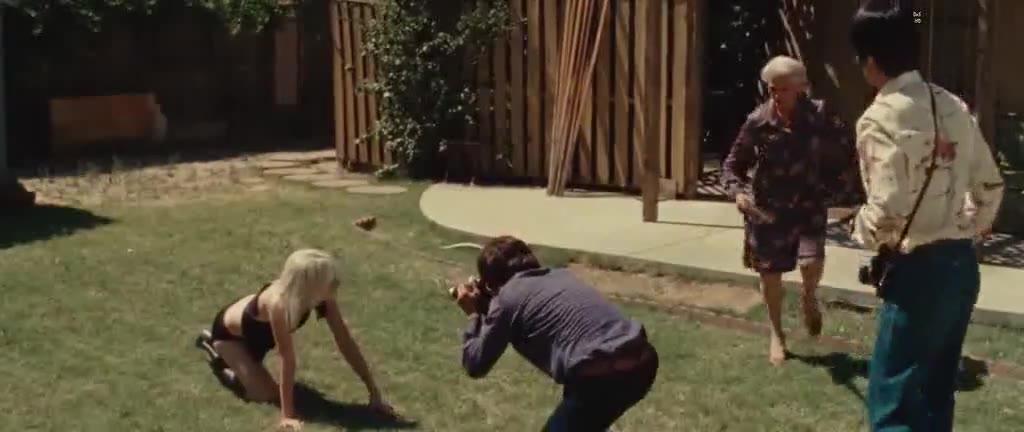 Dakota Fanning photo shoot scene from The Runaways