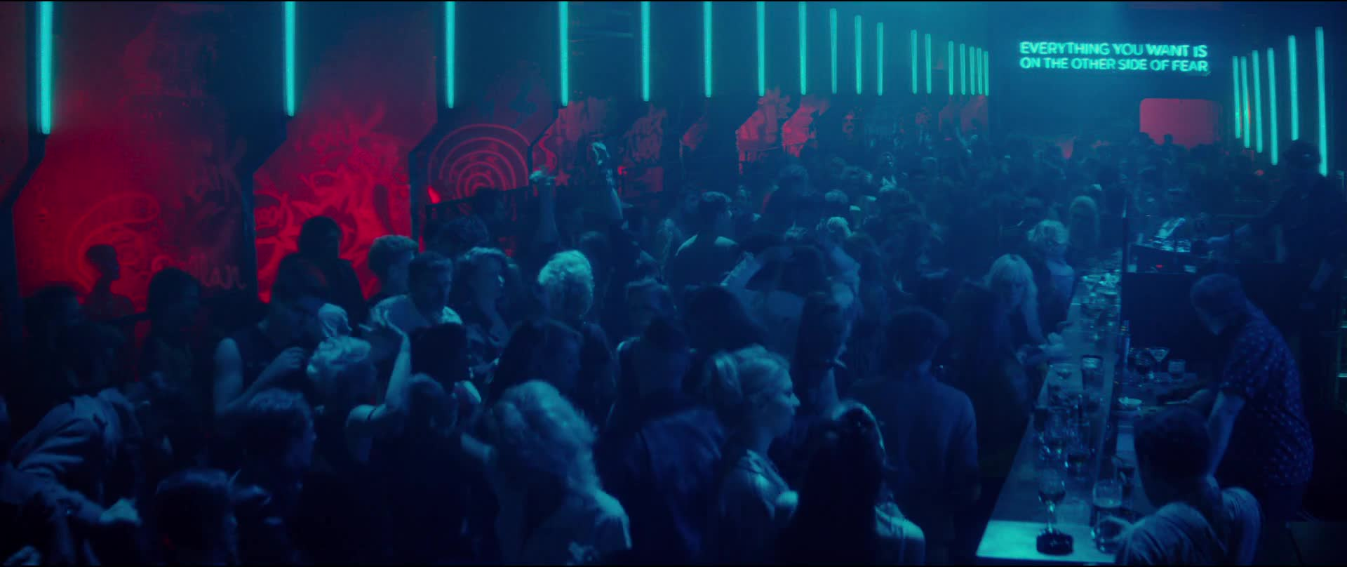 Charlize Theron must watch clip in atomic blonde