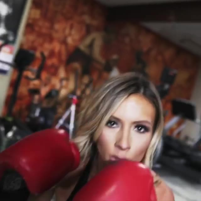 Paige Hathaway ring photo shoot 2018