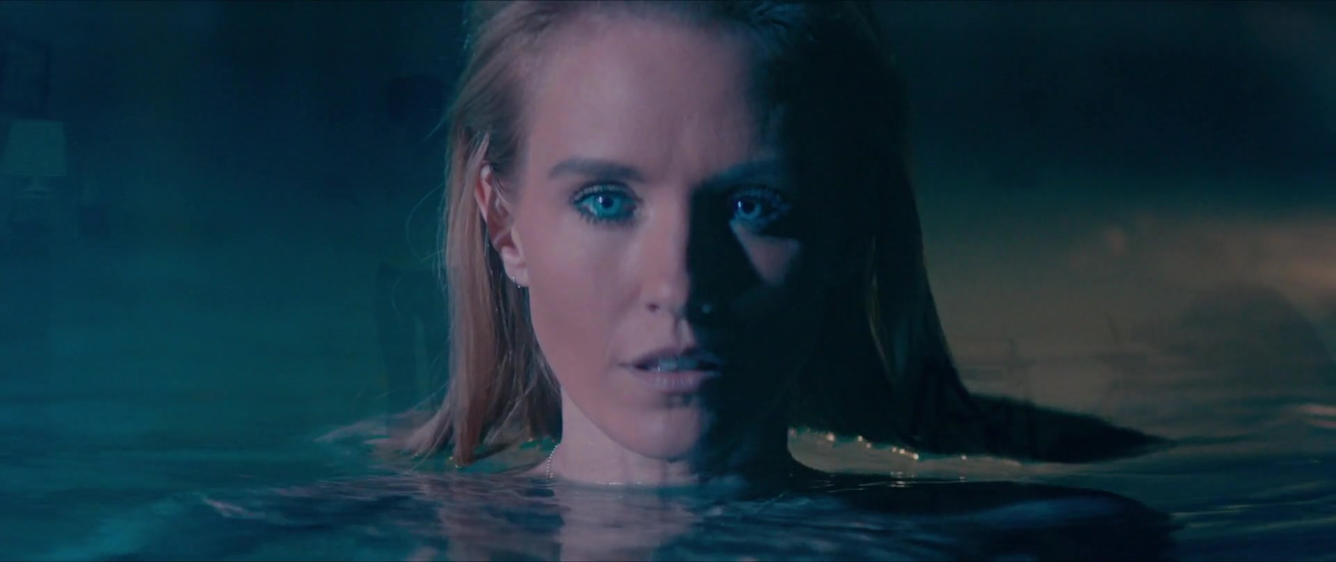 Nicky Whelan late night swim scene from inconceivable ii