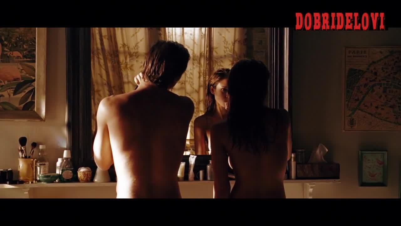 Jessica alba topless brushing teeth scene freom Awake
