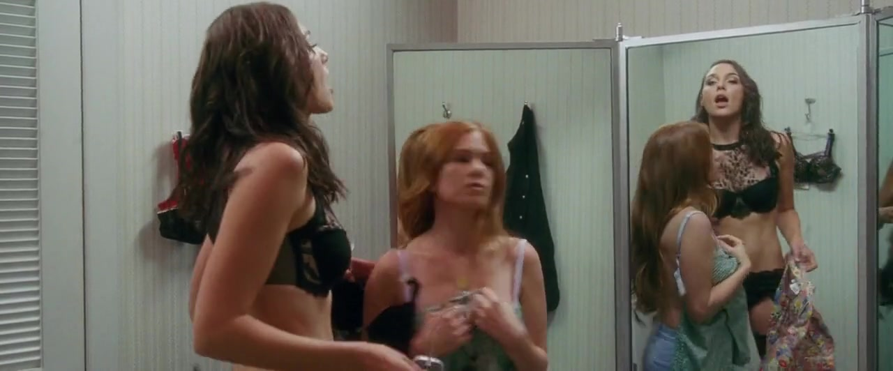 Gal Gadot and Isla Fisher  try some lingerie scene from Keeping Up With the Joneses