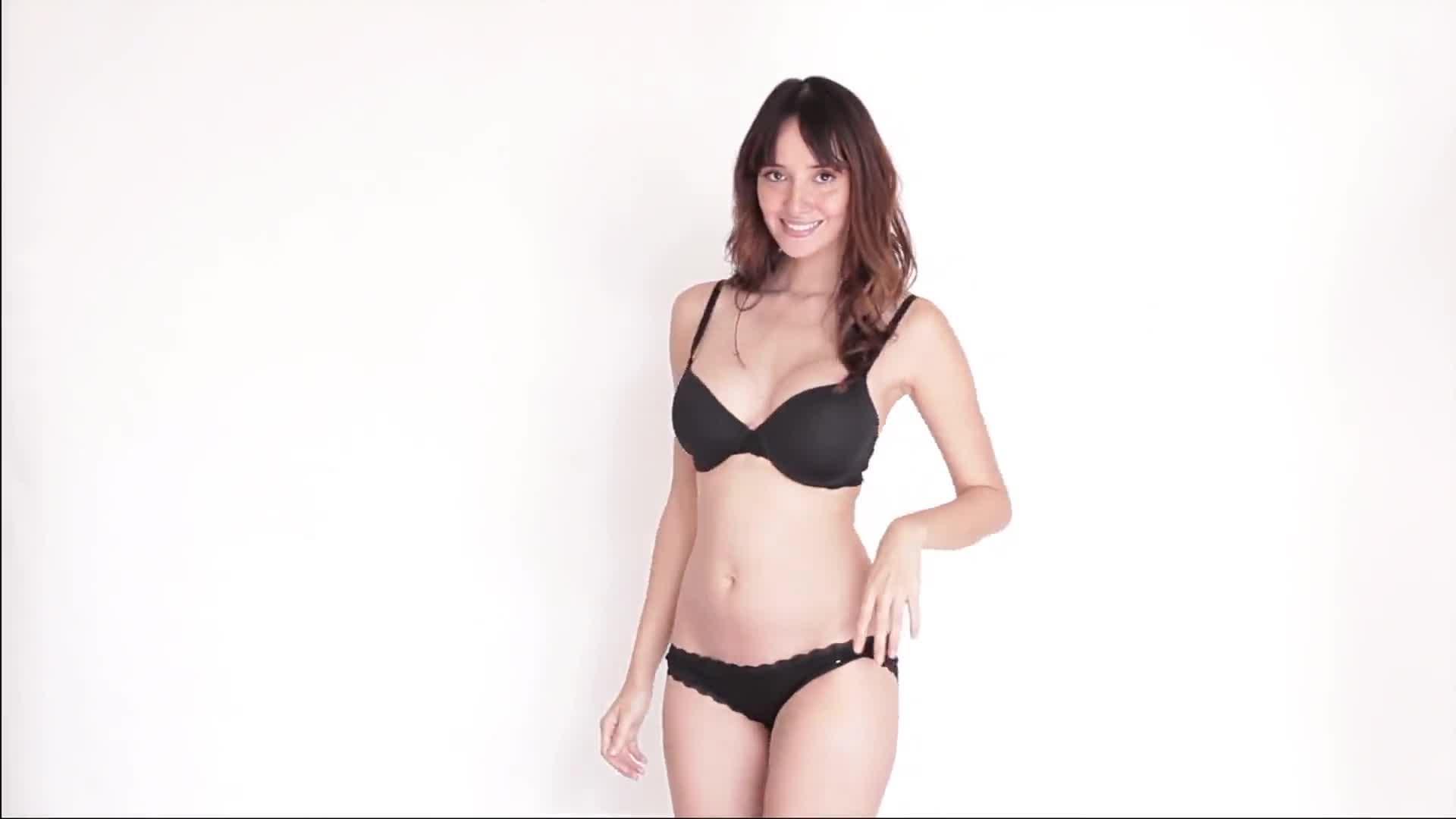 Sara Malakul Lane sexy photo shoot in lingerie