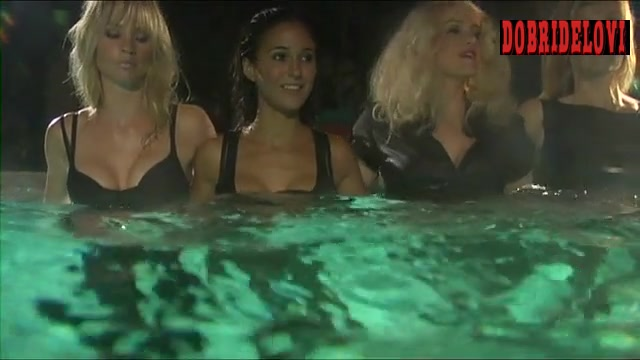 Carla Gugino and Emmanuelle Chriqui sexy in the pool in Women in Trouble