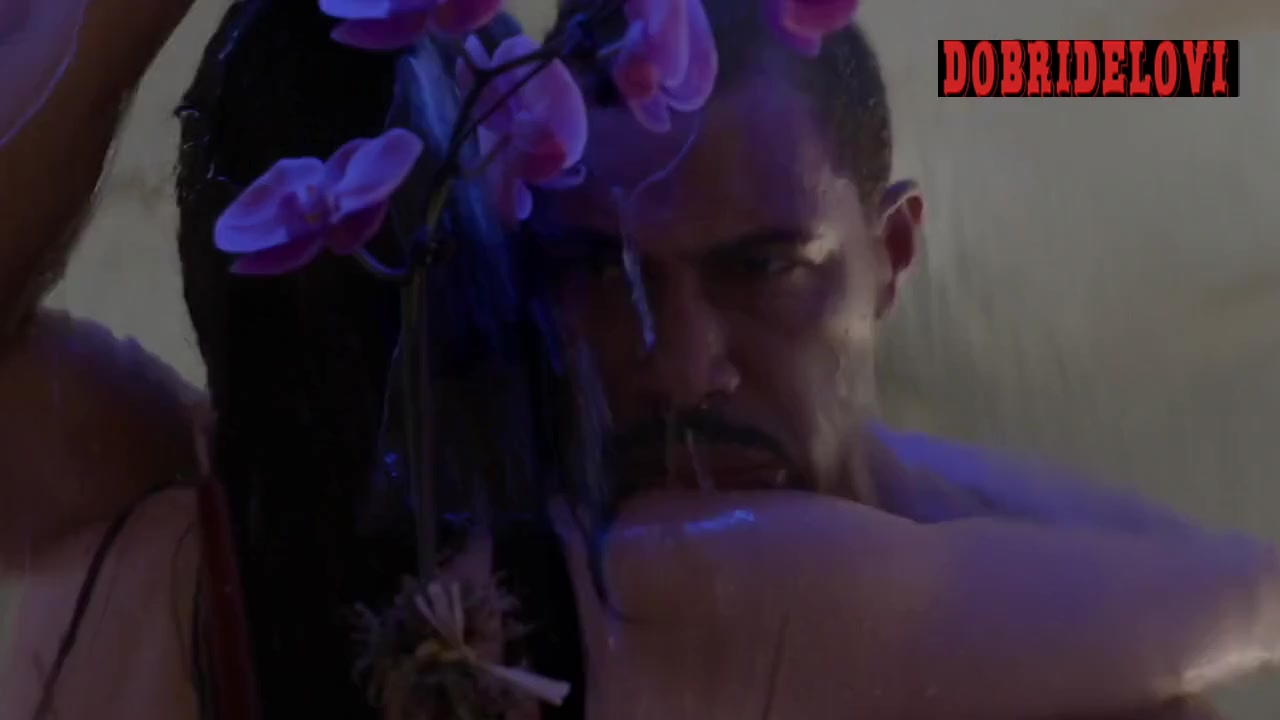 Lela Loren and Omari Hardwick multiple sex positions scene from Power
