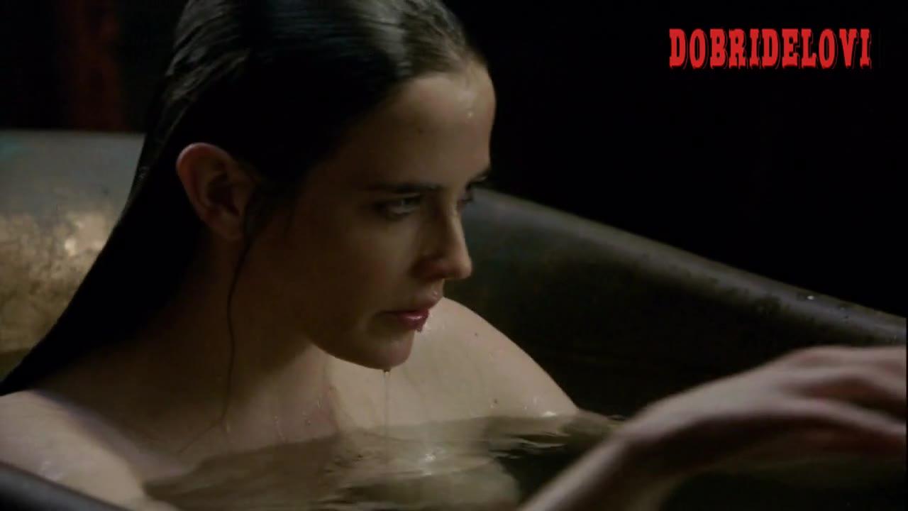 Eva Green bathtub scene from Camelot