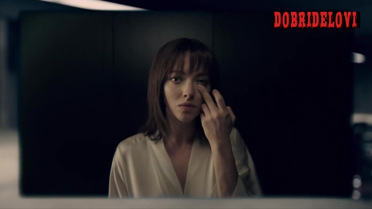 Amanda Seyfried drops the robe in Anon
