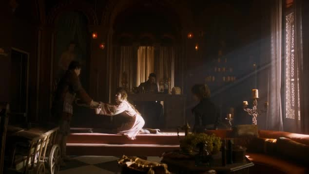 Esmé Bianco sexy scene in Game of Thrones