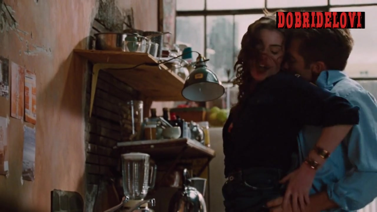 Anne Hathaway gets it from behind by Jake Gyllenhaal in Love & Other Drugs