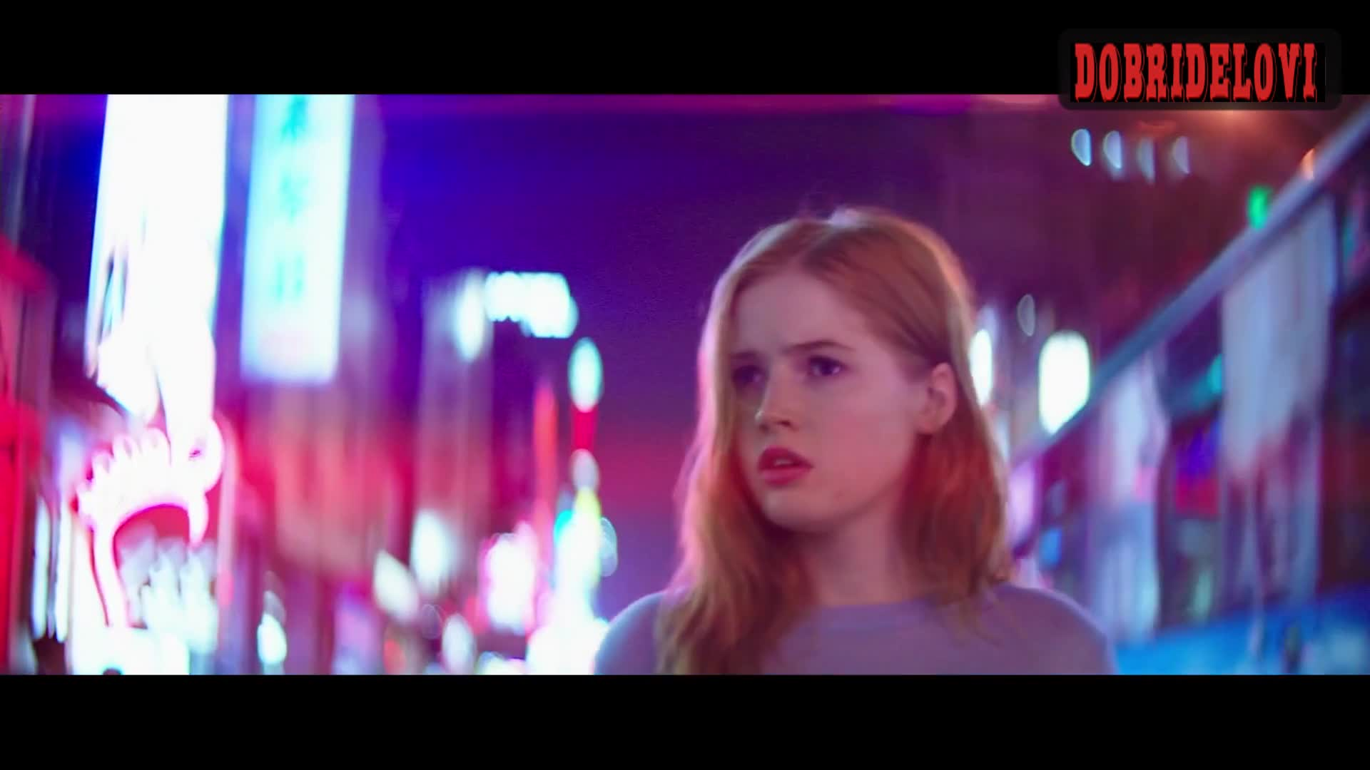 Ellie Bamber pokies Scene from High Resolution