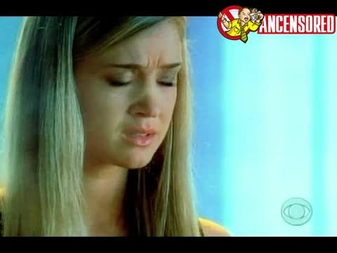 Leila Arcieri sexy scene from CSI Miami