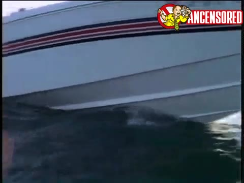 Pamela Anderson scene in Baywatch
