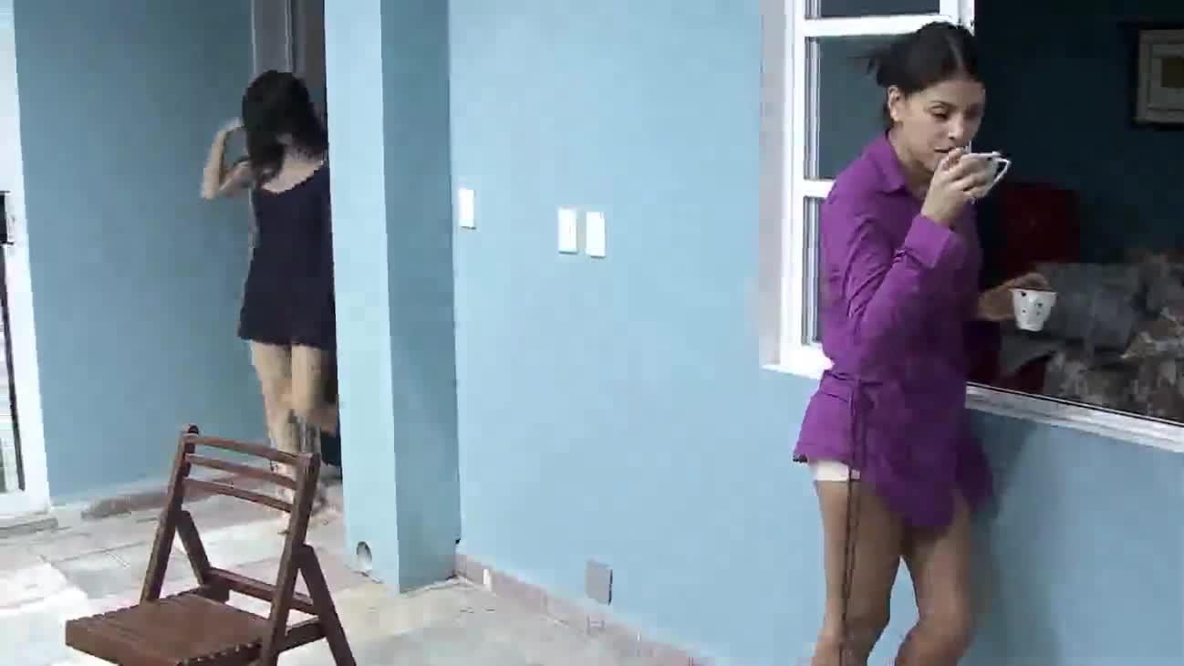 Erendira Ibarra sexy scene from Las aparicio