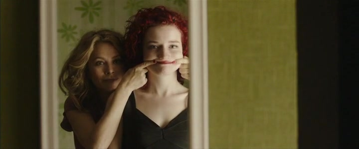 Anna Friel scene from tomato red