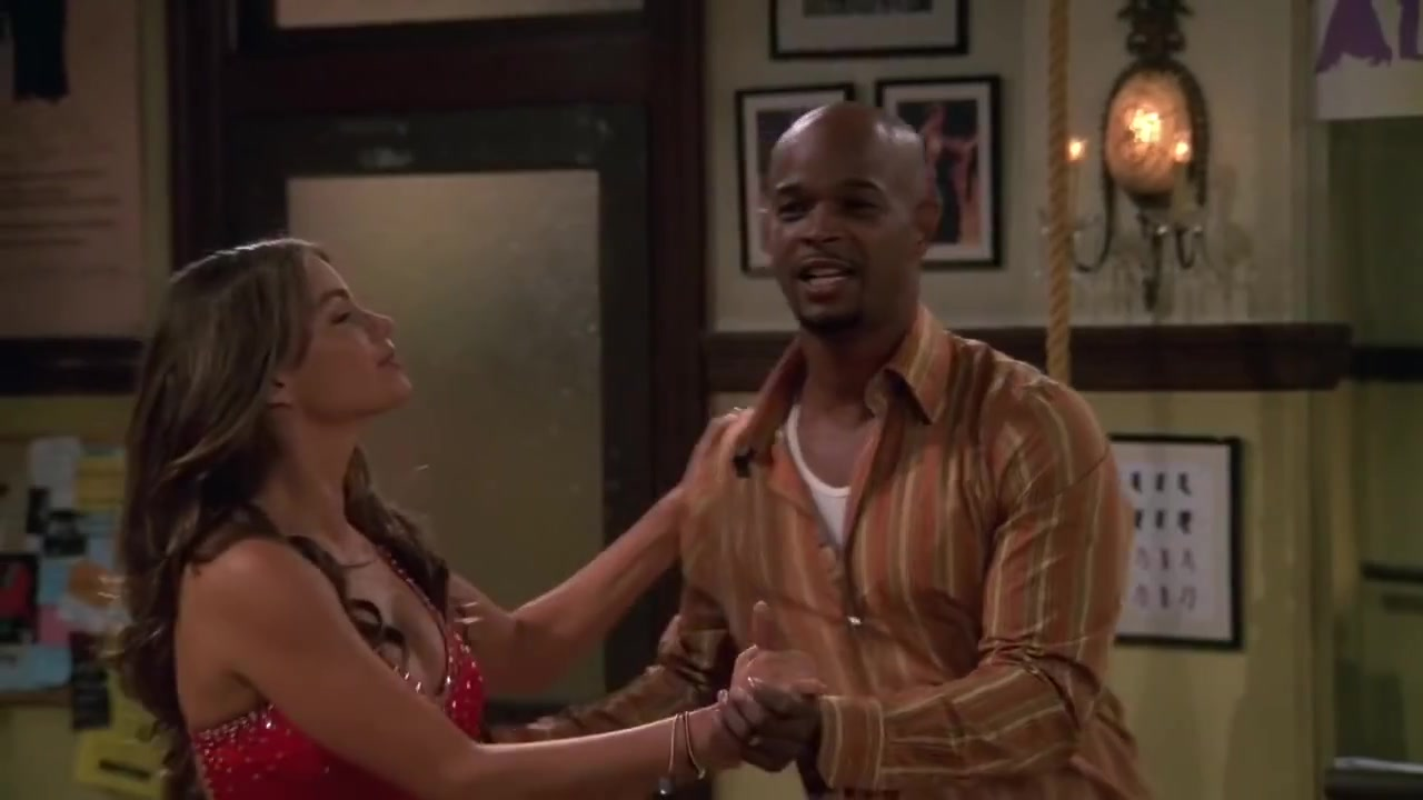 Sofia Vergara teaches salsa to Damon Wayans