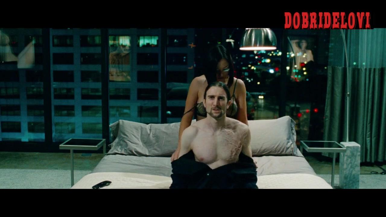 Elizabeth Olsen and Pom Klementieff sexy scene from Oldboy