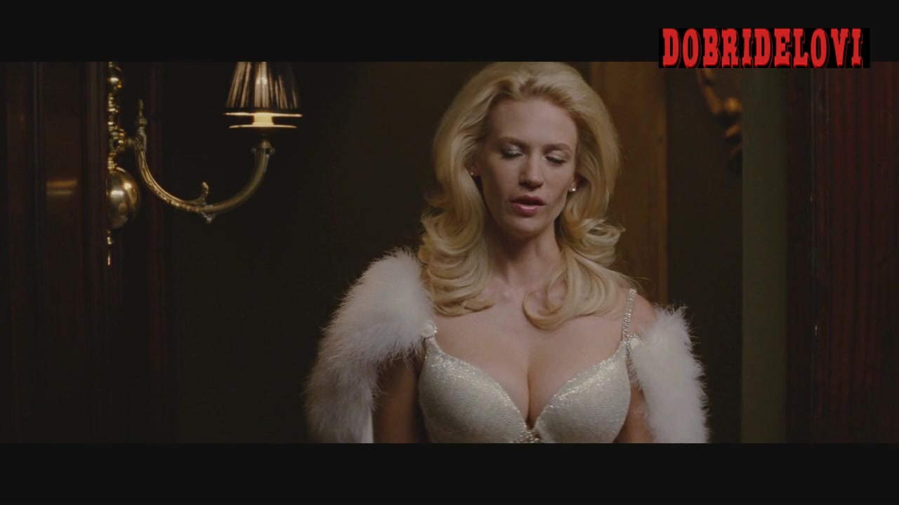 January Jones and Rose Byrne sexy lingerie scene from X-Men First Class