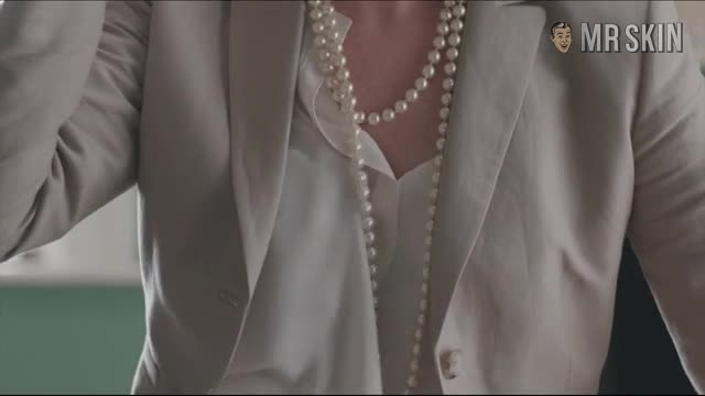 Janel Moloney sexy scene from alpha house 2013