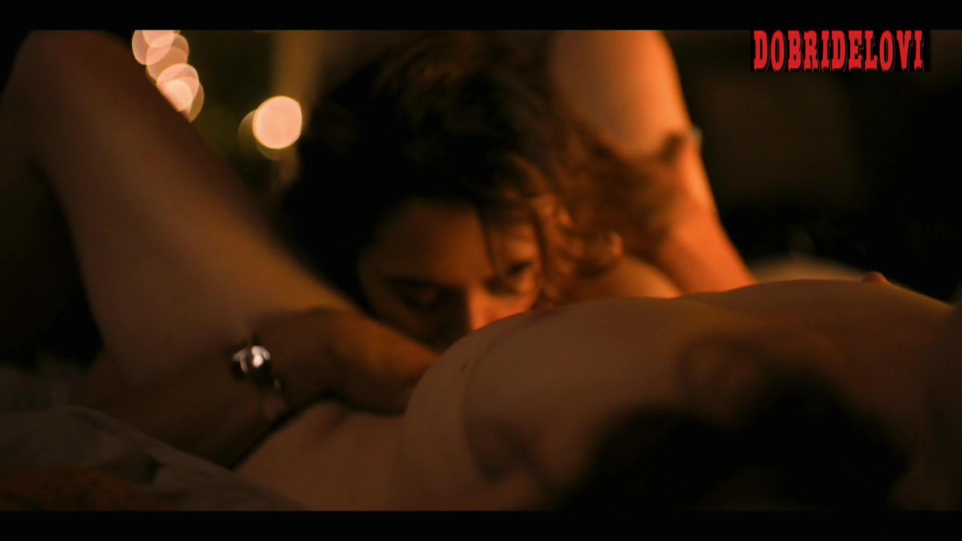 Stephanie Allynne and Sepideh Moafi oral sex scene