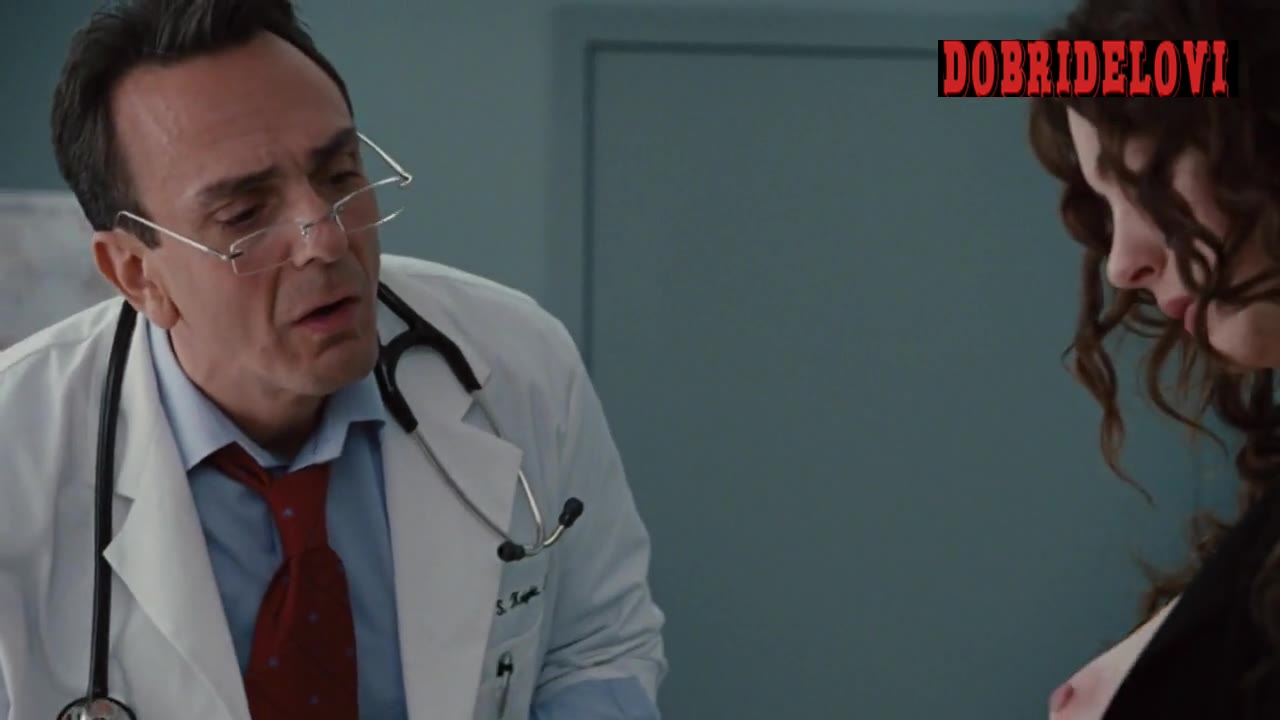 Anne Hathaway pulls out her boob for the doctor -- Love & Other Drugs