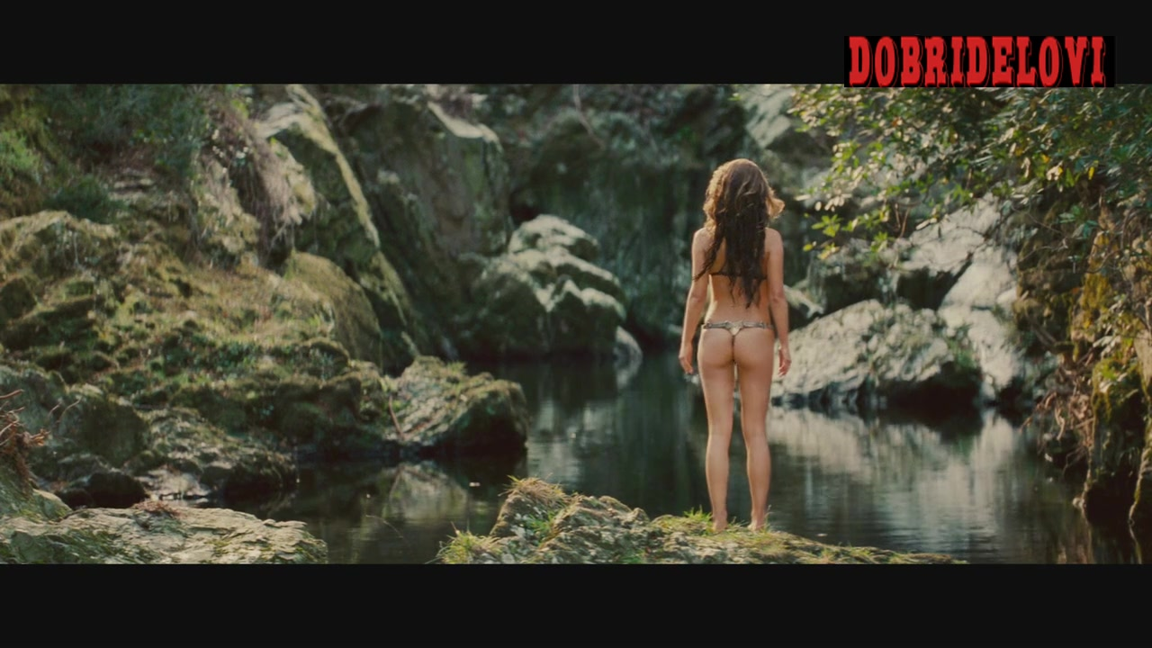 Natalie Portman undresses and dives in river -- Your Highness