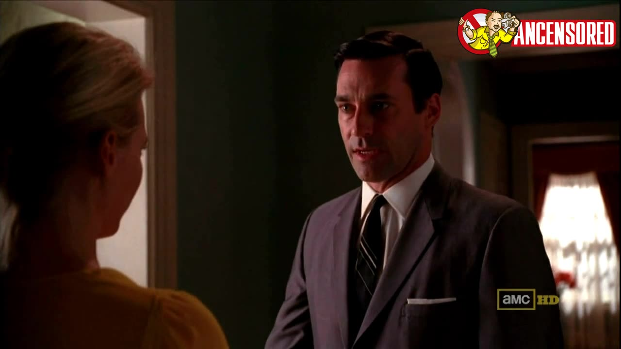 January Jones screentime in Mad Men