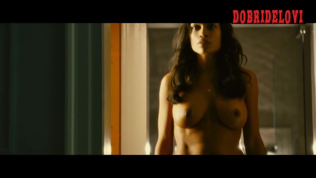 Rosario Dawson full frontall for Trance