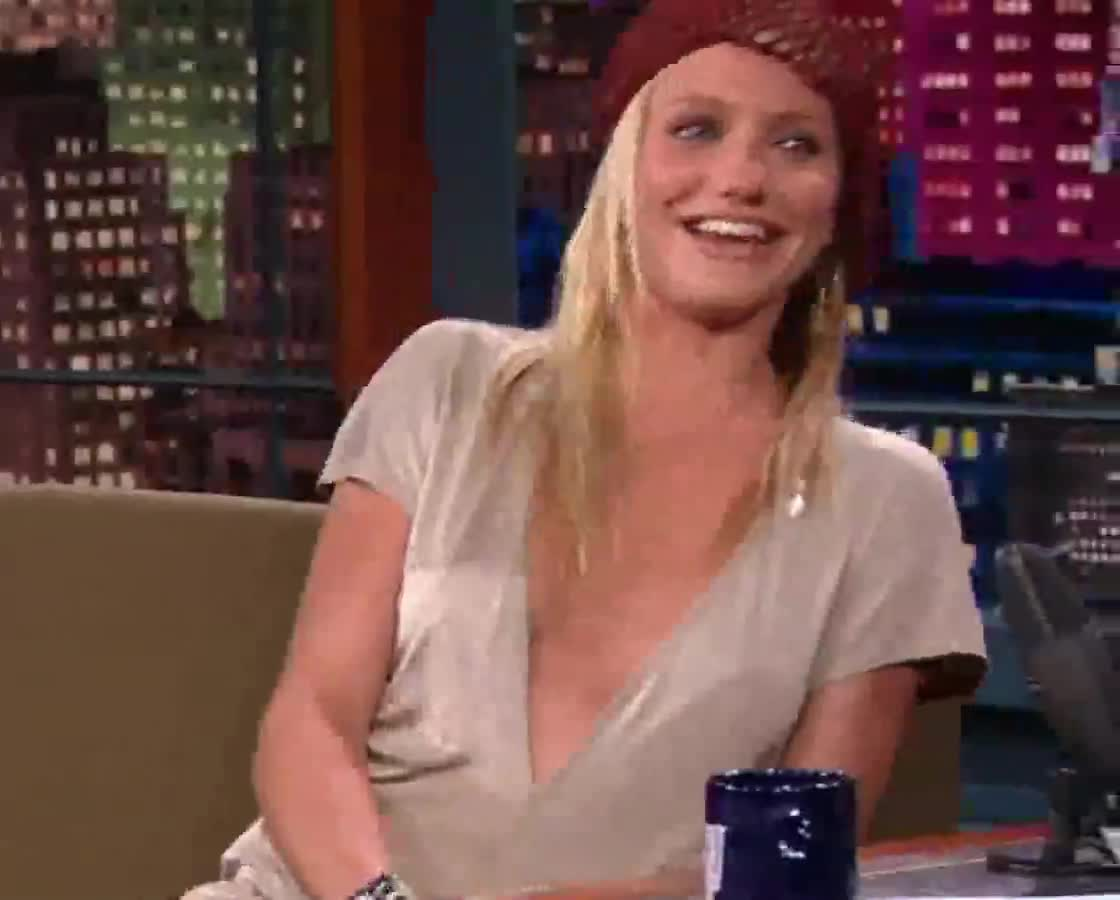 Cameron Diaz screentime - The Tonight Show