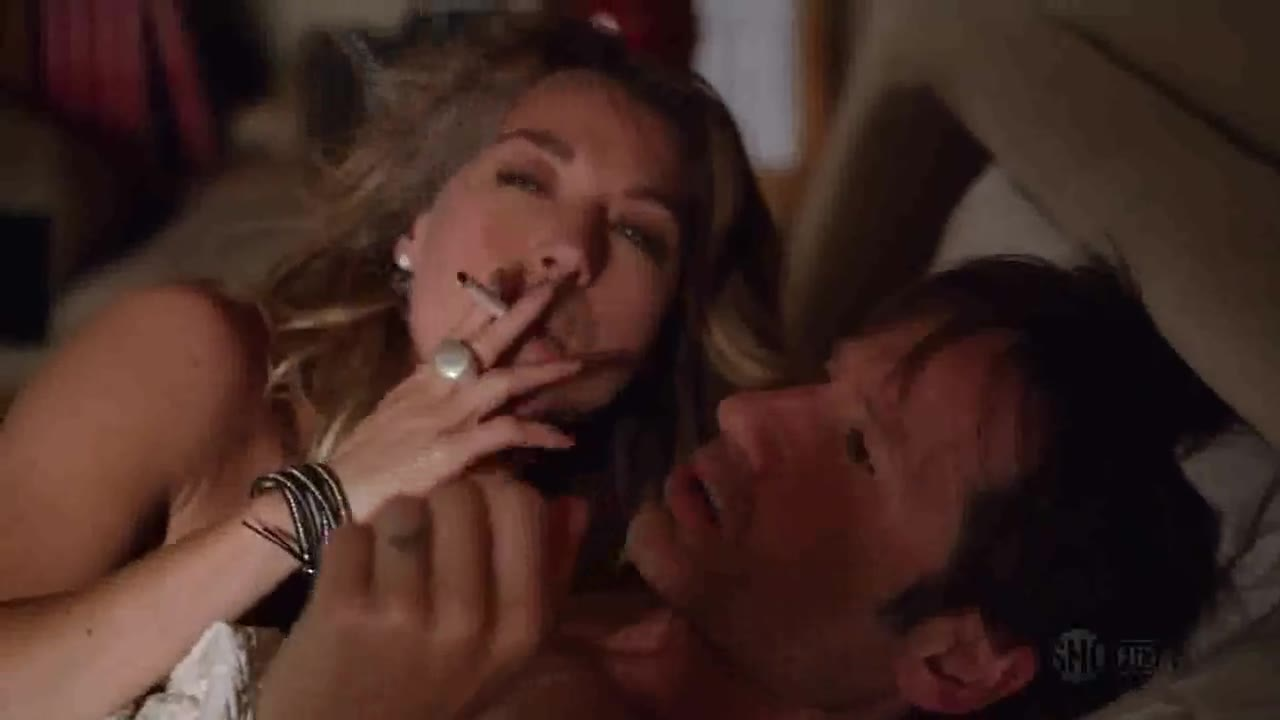 Natalie Zea sexy scene from Californication