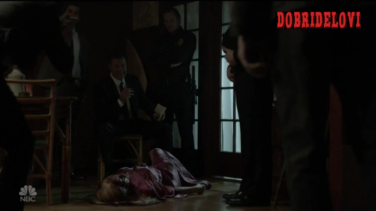 Olivia Taylor Dudley BDSM scene from Aquarius video image