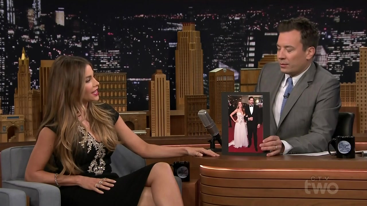 Sofia Vergara interviewed by Jimmy Fallon