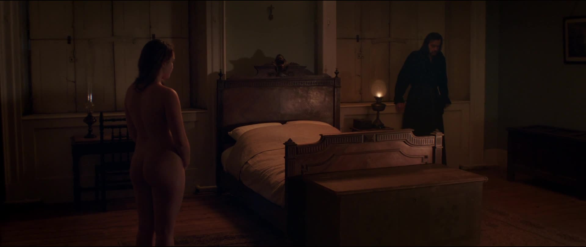 Florence Pugh undressing scene from Lady MacBeth