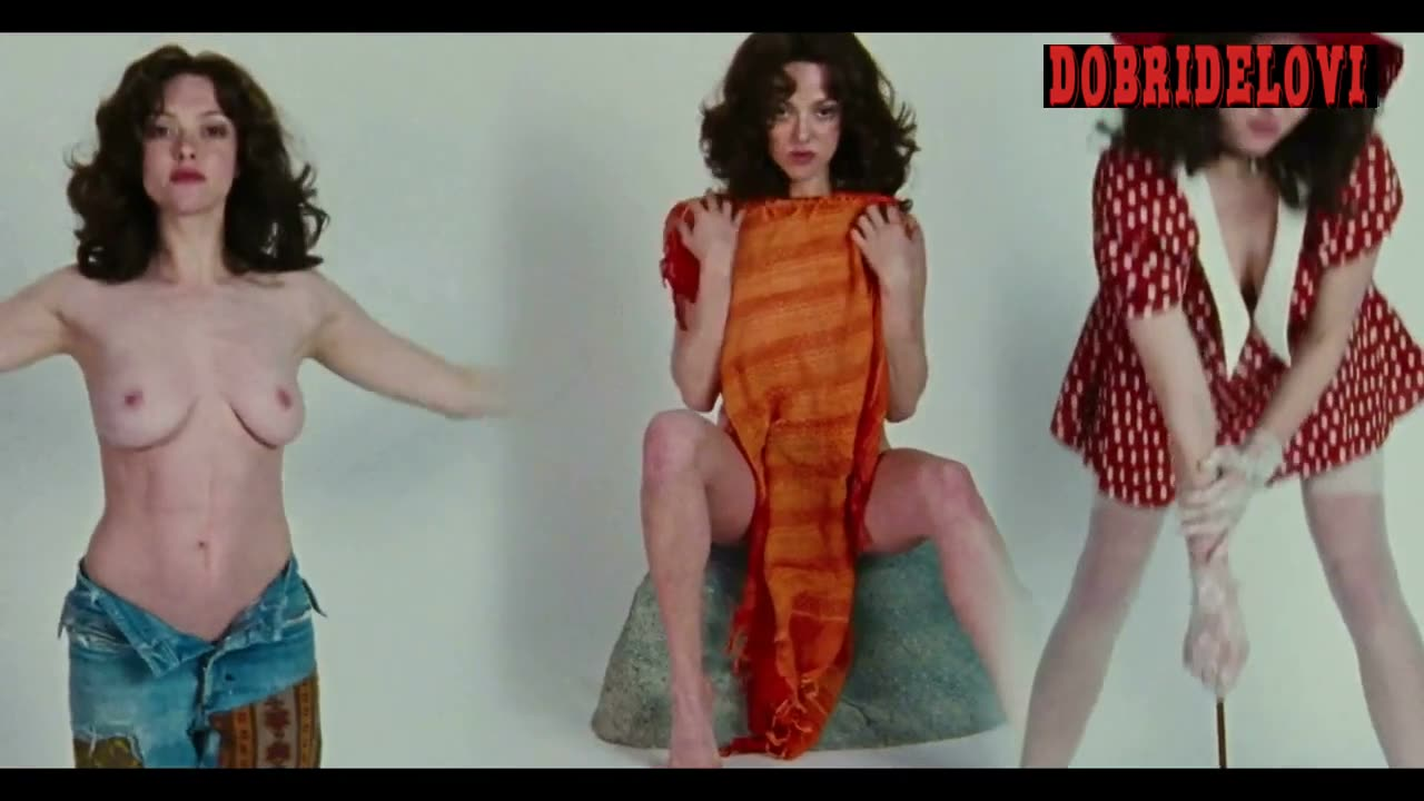 Amanda Seyfried topless photo shoot in Lovelace