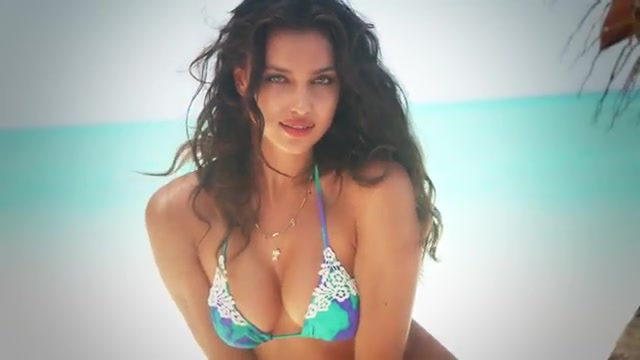 Irina Shayk screentime in Sexy outtakes SI Swimsuit 2014