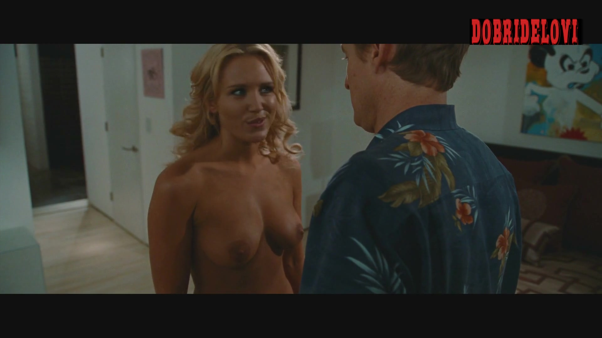 Nicky Whelan undresses for Owen Wilson in Hall Pass